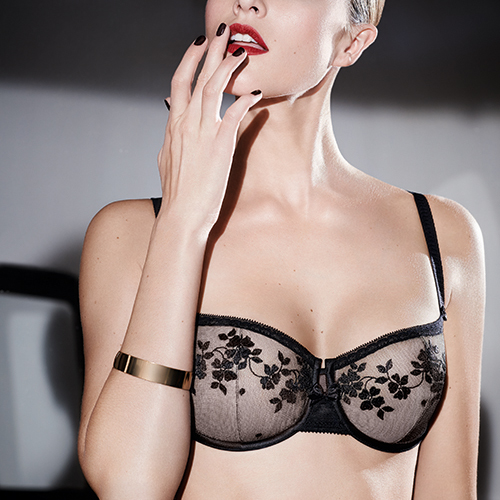 Intuition Half Cup Bra by Chantelle