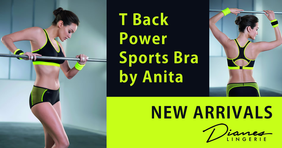New Arrivals. Stylish and supportive sports bras. Dianes Lingerie