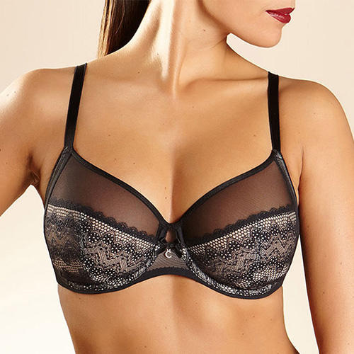 Revele Moi 4-Part Bra by Chantelle in Black