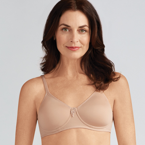 Lara by Amoena in Nude, Amoena, After Surgery Bras, Wireless, Mastectomy Bras, South Granville, Diane's Lingerie, Vancouver