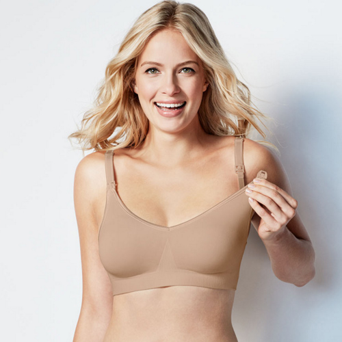 Bodysilk Nursing Bra by Bravado in Butterscotch, Bravado, Diane's Lingerie. South Granville, Vancouver, Nursing Bras, Maternity Bras