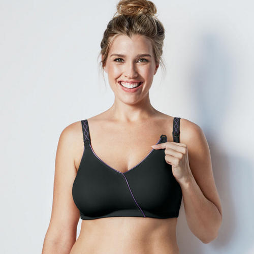 Essential Embrace Nursing Bra by Bravado in Black, Bravado, Diane's Lingerie. South Granville, Vancouver, Nursing Bras, Maternity Bras