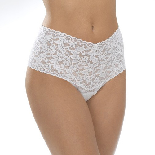 Retro Thong by Hanky Panky in Marshmallow