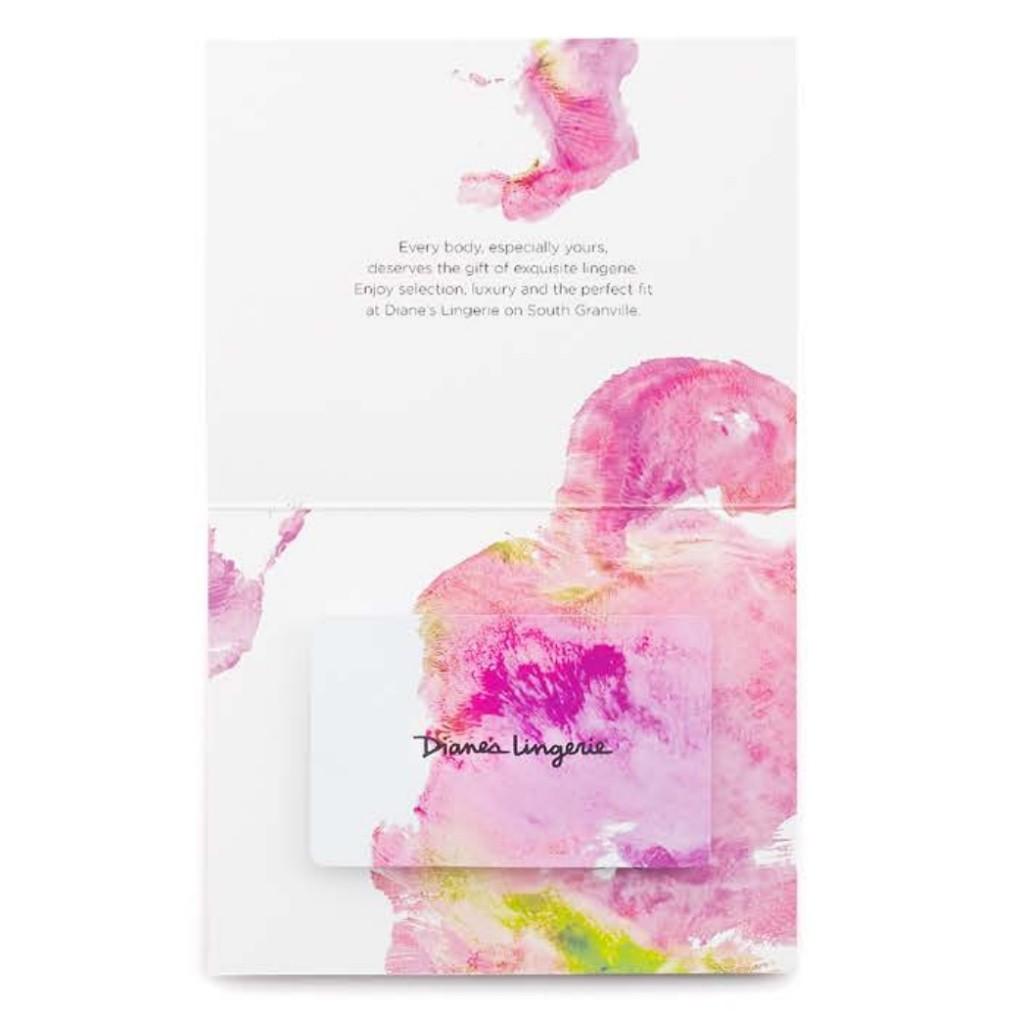 Diane's Lingerie Gift Cards