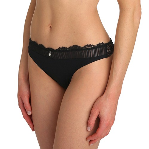 Sofia Thong by Marie Jo in Black