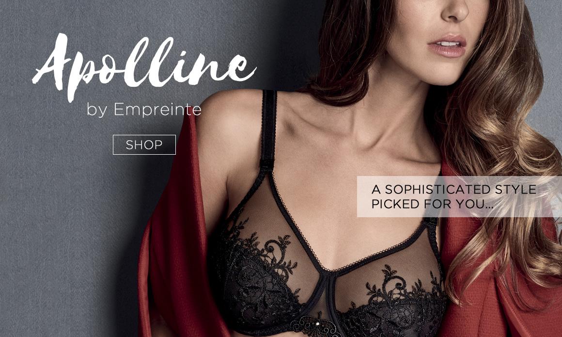 Apolline Noir Bra, Diane's Lingerie, South Granville, Vancouver