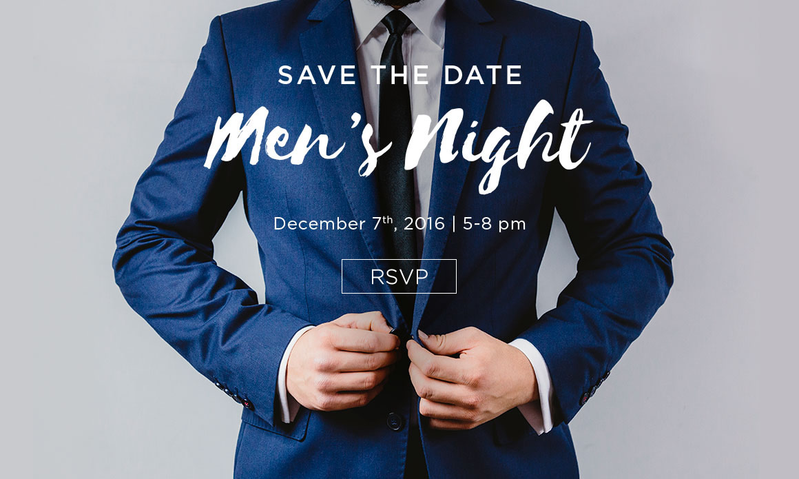 Save the Date: Men's Night Private Holiday Shopping, Dec 7, 5-8pm, Diane's Lingerie, South Granville, Vancouver, BC
