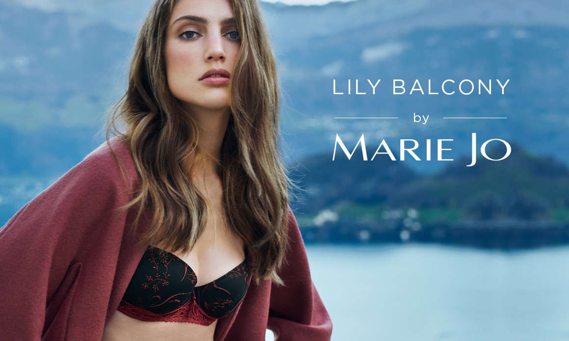 Lily Balcony Bra by Marie Jo, Diane's Lingerie, Vancouver