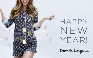 Happy New Year from Diane's Lingerie