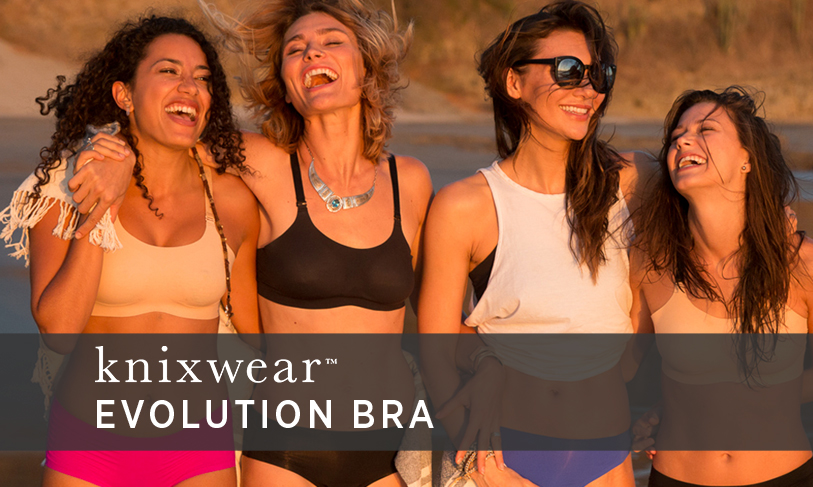 New Evolution Bra by Knixwear is 8 Bras In 1