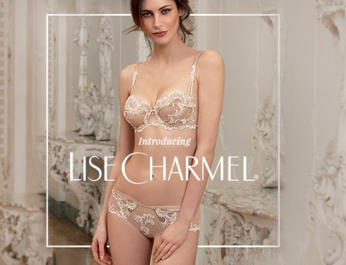 Lise Charmel is now available at Diane's Lingerie