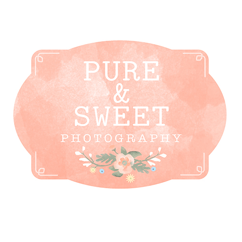 Pure and Sweet Photography Logo