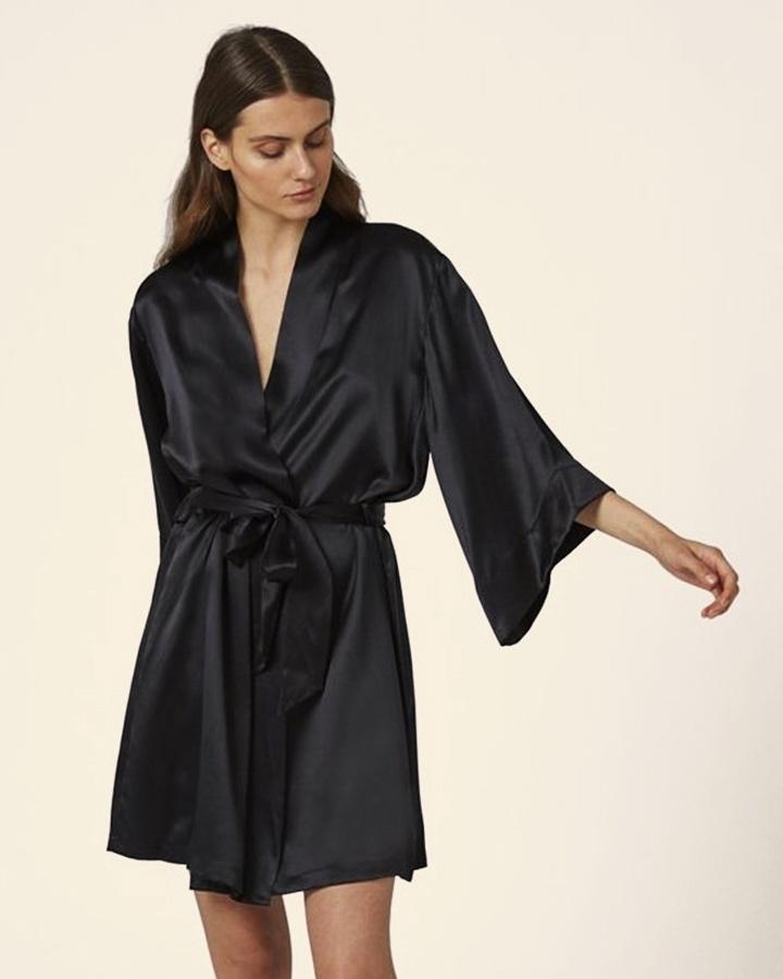 Ginia Silk Robe