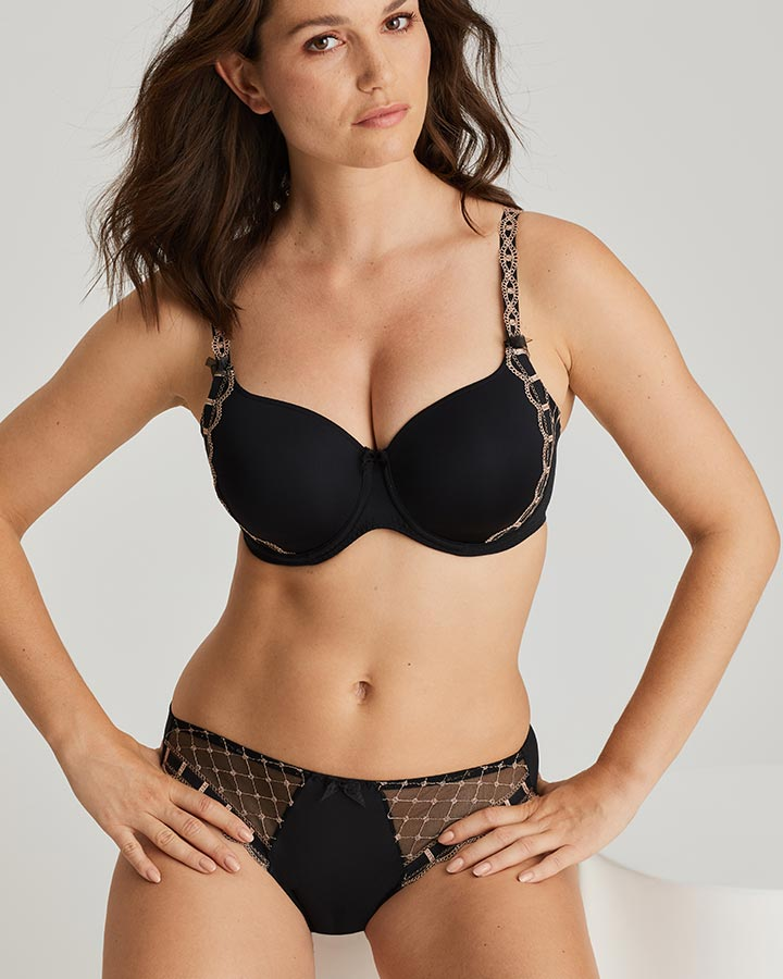 A la folie T-shirt Bra and Thong by Prima Donna