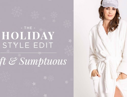 The Holiday Style Edit: Soft & Sumptuous