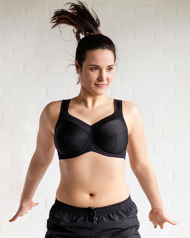 Kate Underwire Sports Bra by Ulla Dessous