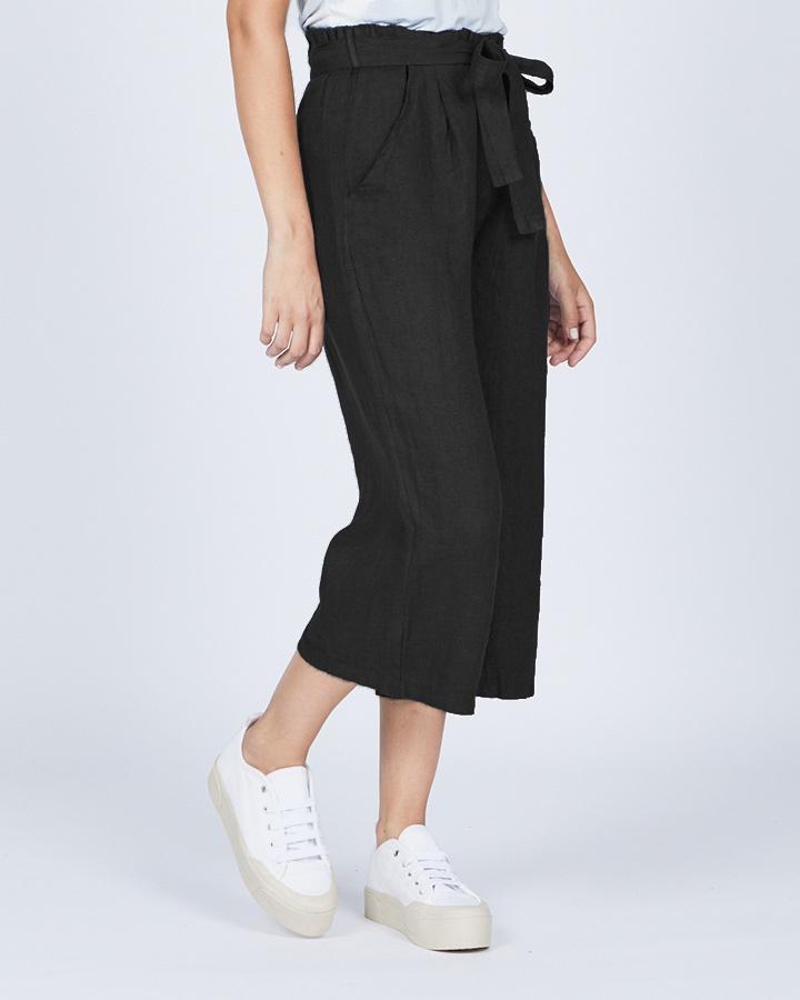 pistache-clothing-linen-gaucho-pant-black-dianes-lingerie-vancouver-720x900