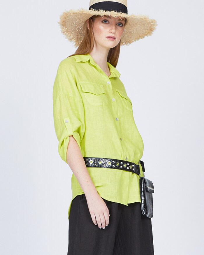 pistache-clothing-loose-double-pocket-linen-blouse-limone-dianes-lingerie-vancouver-720x900