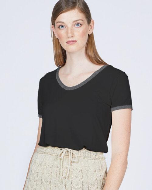 pistache-clothing-lurex-tee-black-dianes-lingerie-vancouver-720x900