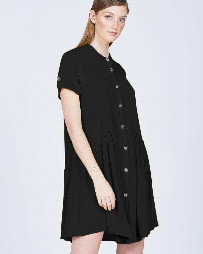 pistache-clothing-tencel-summer-dress-black-dianes-lingerie-vancouver-720x900