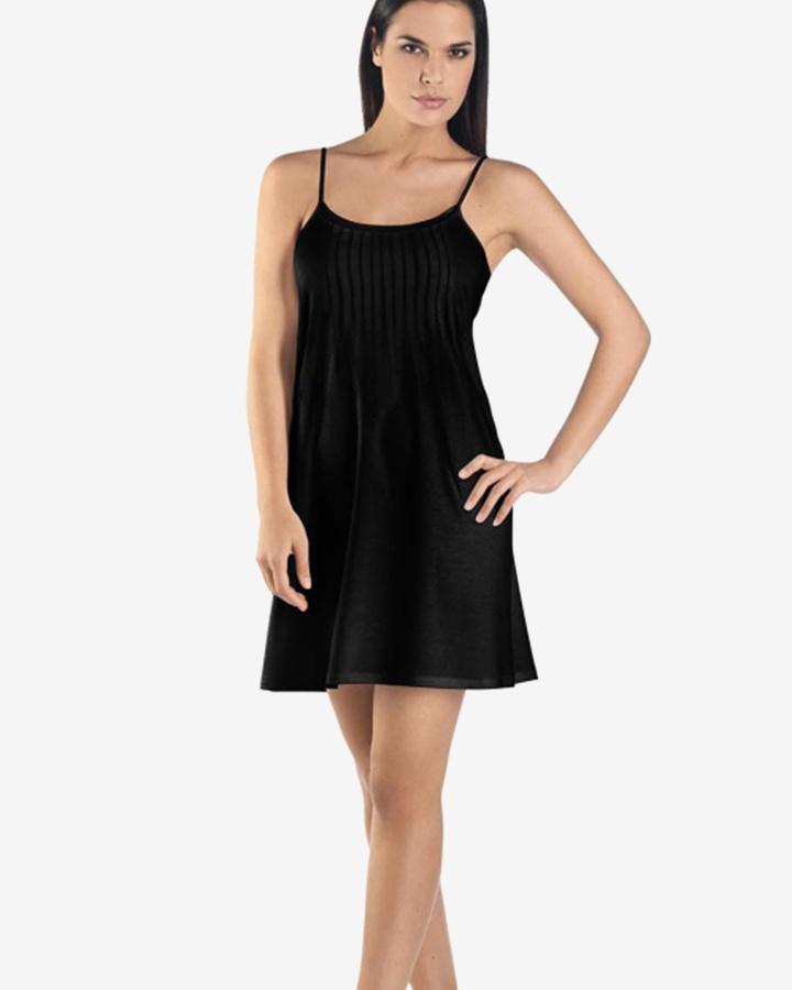 hanro-juliet-chemise-black-dianes-lingerie-vancouver-720x900