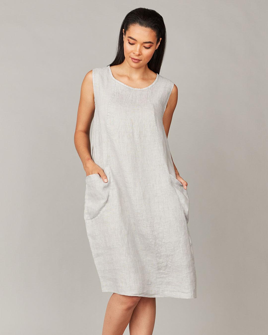 pistache-clothing-comfort-dress-pebble-dianes-lingerie-vancouver-1080x1080