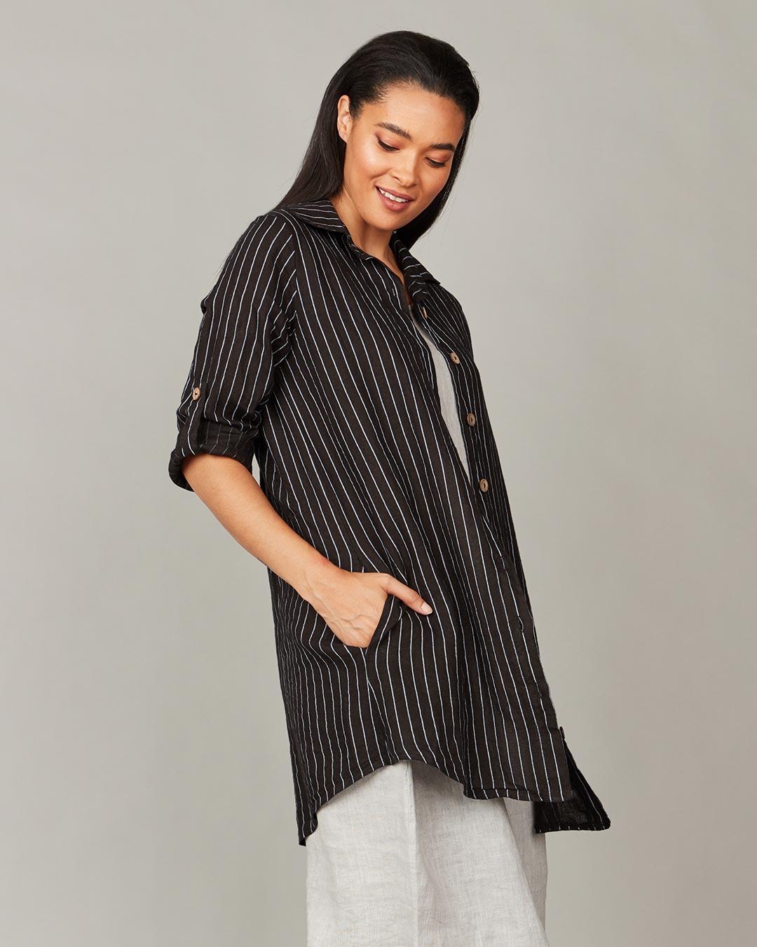 pistache-clothing-pinstripe-shirtdress-white-dianes-lingerie-vancouver-1080x1080