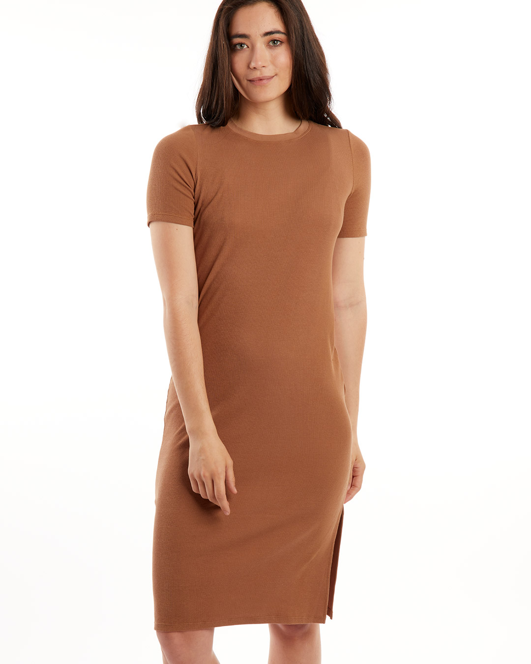 paper-label-shiloh-dress-timber-tan-front-dianes-lingerie-vancouver-1080x1350
