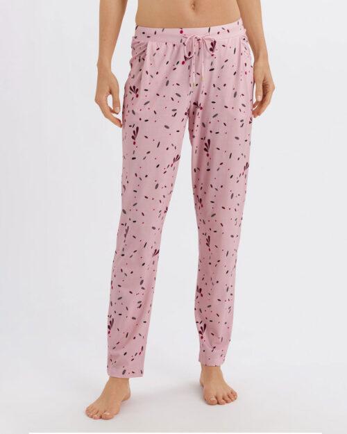 hanro-sleep-lounge-print-long-pant-almond-front-dianes-lingerie-vancouver-1080x1350